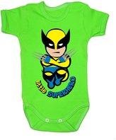 Colour Fashion Baby Wolverine Bodysuits Shortsleeve 100% Cotton 0 - 24 months 0008