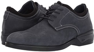 Johnston & Murphy Waterproof XC4(r) Elkins Casual Plain Toe Oxford (Navy) Men's Shoes