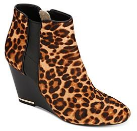 Kenneth Cole Women's Merrick Wedge Heel Booties