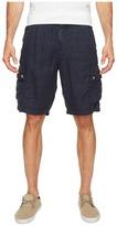 True Grit Textured Linen Cargo Shorts Men's Shorts