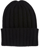 The Elder Statesman Women's Short Bunny Echo Hat-BLACK