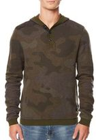 Buffalo David Bitton Wiflage Long-Sleeve Cotton Henley