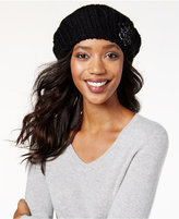 INC International Concepts Crochet Flower Beret, Only at Macy's