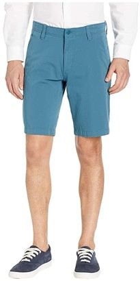 Dockers Smart 360 Flex Straight Fit Shorts (Mallard Blue) Men's Shorts