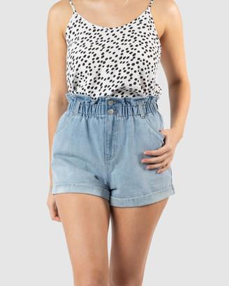 Sass Scandi Paperbag Shorts