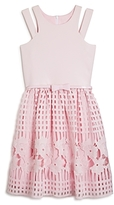 Us Angels Girls' Lace Skirt Dress - Big Kid
