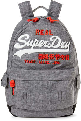 Superdry Grey Marl Premium Goods Backpack