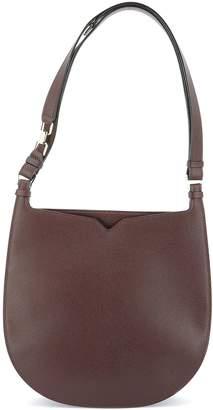 Valextra Hobo Weekend Medium Shoulder Bag