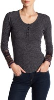 Flying Tomato Solid Henley