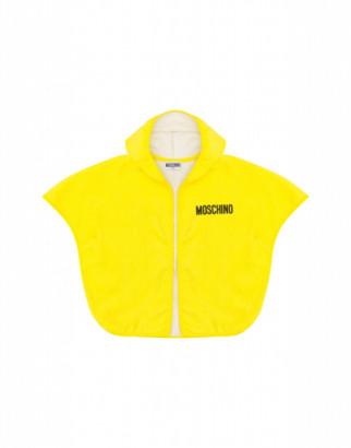 Moschino Teddy Bathrobe Unisex Yellow Size Single Size