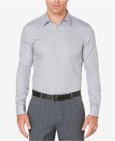 Perry Ellis Men's Classic-Fit Mini-Chainlink Cotton Shirt
