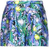 Peter Pilotto Geo Printed Silk Shorts