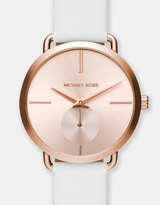 Michael Kors Portia White Chronograph Watch