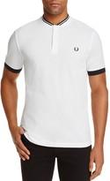 Fred Perry Baseball Collar Pique Regular Fit Polo Shirt