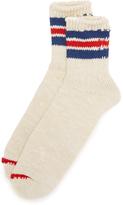 Anonymous Ism 3 Line Slub Quarter Socks