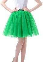 Facent Mini Short Tutu Tulle Skirt Underskirt Petticoat