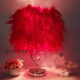 PinWei linght PinWei_ Creative fashion Crystal feather table lamp