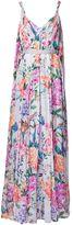 Matthew Williamson Duchess Garden Lilac Parachute Silk Gown