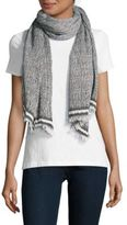 La Fiorentina Textured Cotton-Blend Scarf