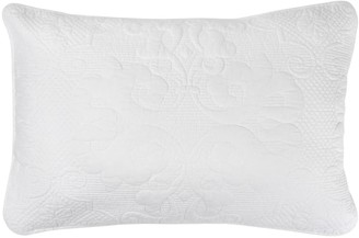 Wallace Cotton Annalise Quilted Cotton Standard Pillowcase