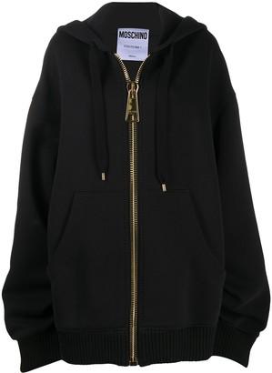 Moschino Oversized Hoodie Coat