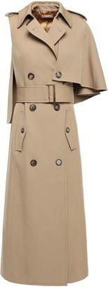 Michael Kors Cape-effect Wool-twill Trench Coat