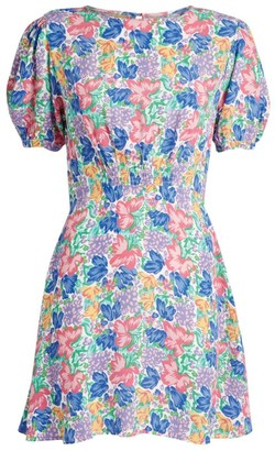 Faithfull The Brand Sidonie Jemima Floral Mini Dress