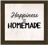 PTM Images 'Happiness is Homemade' Framed Wall Sign