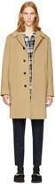 TOMORROWLAND Beige Bal Collar Coat