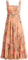 Zimmermann Zinnia Floral Georgette Dress