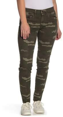 William Rast Jane Camo Zip Flap Skinny Jeans