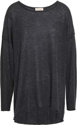 American Vintage Melange Wool-blend Sweater