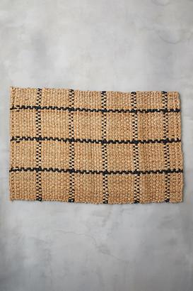 terrain Windowpane Jute Doormat By in Assorted Size S