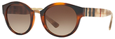 Burberry BE4227 Oval Sunglasses