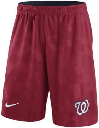 Nike Men's Red Washington Nationals Knit Shorts