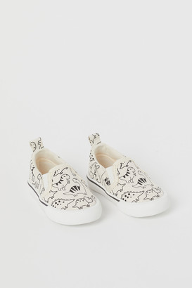 H&M Canvas Slip-on Sneakers