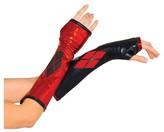 BuySeasons DC Comics Women's Harley Quinn Fingerless Gloves - One Size Fits Most