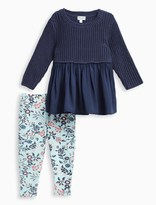 Splendid Baby Girl Sweater and Printed Pant Set