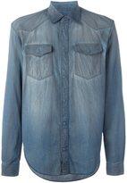 Maison Margiela distressed effect shirt - men - Cotton - 39