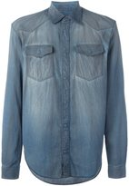 Maison Margiela distressed effect shirt