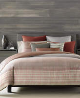 Hotel Collection Modern Geo Stripe King Duvet Cover, Created for Macy's