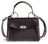 Proenza Schouler Small Hava Top Handle Leather Satchel - Black