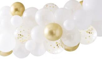 Ginger Ray Botanical Shower Gold Chrome Balloon Arch W Botanics