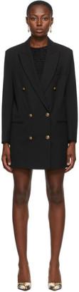 Versace Jeans Couture Black Blazer Dress