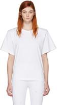 MM6 MAISON MARGIELA White Shoulder Pad T-shirt