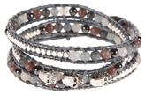 Ananda Leather Wrap Bracelet