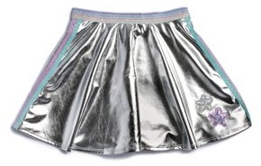 365 Kids from Garanimals Girls 4-10 Metallic Skirt