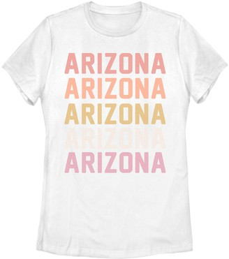 Juniors' Arizona Stack Graphic Tee