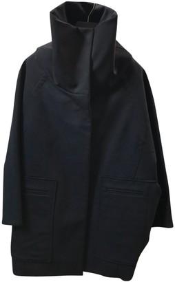 Porsche Design Black Wool Coat for Women
