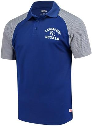 Stitches Men's Royal Kansas City Royals Domestic Polo